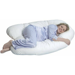 Leachco Back 'N Belly - Contoured Body Pillow, Ivory