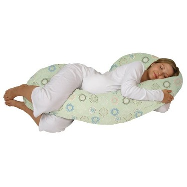 Snoogle Chic - Snoogle Total Body Pregnancy Pillow with Easy-off Zippered Cover