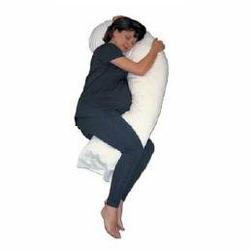 Snoozer Full Body Pillow - Natural Goose Down Filler