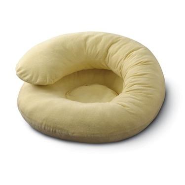 Basic Comfort Body Support Pillow Beige