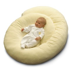 Basic Comfort Body Support Pillow Beige