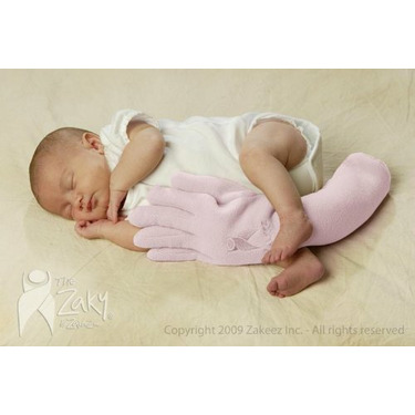 Zakeez ZRL Zaky Therapeutic Positioning Pillow- Rose Left
