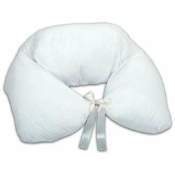 Leachco Boomerest Angled Body Pillow, Ivory