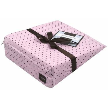 Kushies Pregnancy Pillow, Pink Polka Dots