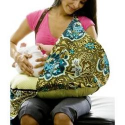 Belly Fish Nursing Cover and Pillow TURQUOISE