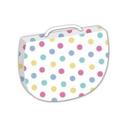 Cuddoozle Multi-Purpose Comfy Wedge - White Dots