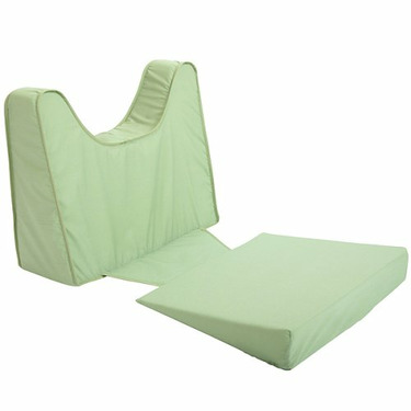 Leachco Back N Shape Adjustable Maternity Pillow Set, Sage