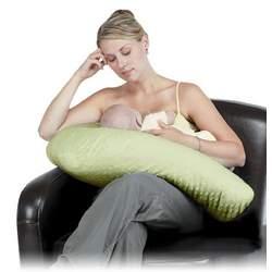 Boomerang Nursing Pillow (Colors May Vary)