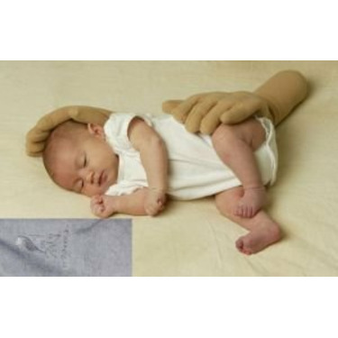 Zakeez ZGL Zaky Therapeutic Positioning Pillow- Gray Left