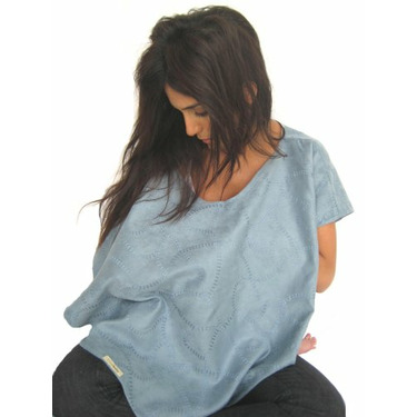 L'ovedbaby 4-in-1 Nursing Shawl True Blue