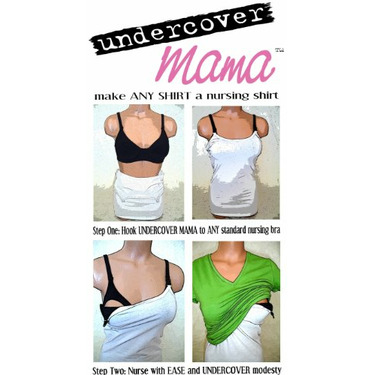 Nursing Tank By Undercover Mama (Small, Black)
