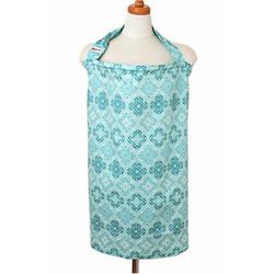 Bebe Au Lait Nursing Cover, Shrine Aqua