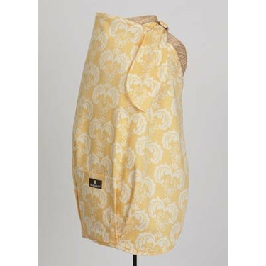 Balboa Baby Nursing Cover In Vivienne- Yellow and White