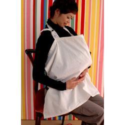 Bebe Au Lait Nursing Cover, Eyelet Ivory