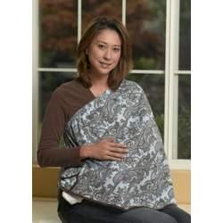 ORGANIC NursEase Breastfeeding Shawl- Organic Small Perfect Paisley
