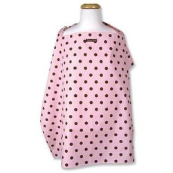 Maya Dot Nursing Cover - Brown,Pink