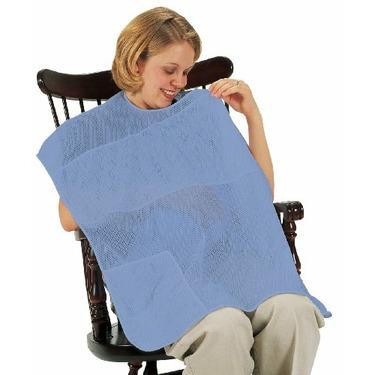 Leachco Covered N Cool Breast feeding Cover, Periwinkle