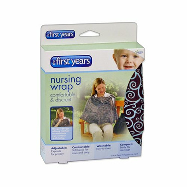 The First Years Nursing Privacy Wrap, Scroll Print