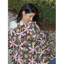 Natalia's Collection Nursing Cover, Retro Vibe