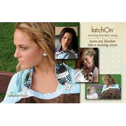 LatchOn Nursing Blanket Strap Wild Pink