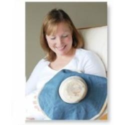 Moboleez nursing hat breastfeeding cover modern bonnets (0-6 month, Blue-Mmmm)