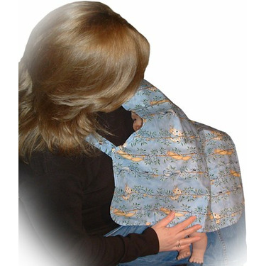 Mommy'n'Me Nursing Cover-Cats & Vines-Large/Extra Large