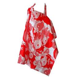 Peanut Shell Nursing Cover, Red Yoko