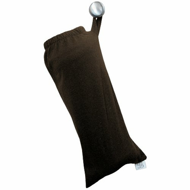 Baby Bond Flex Nursing Sash with Removable Burpcloth, Chocolate, Medium/Large