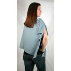 The Butterfly Wrap: Shawl + Nursing Cover + Skirt (Medium, Stone Blue)