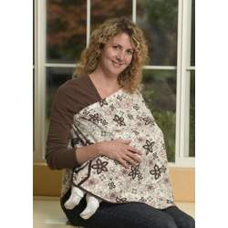 ORGANIC NursEase Breastfeeding Shawl- Organic Medium Fab Floral