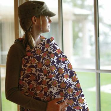 Bebe Au Lait Nursing Cover, Poppy Hills