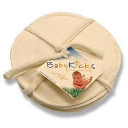 BabyKicks Nursing Pads - Jersey, Set of 3