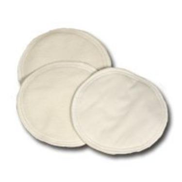 Fuzzi bunz Cloth Nursing Pads Leak-Proof White [Baby Product]