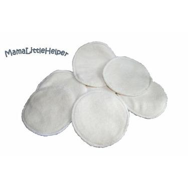 MamaLittleHelper Organic 100% Bamboo Nursing or Breast Pads