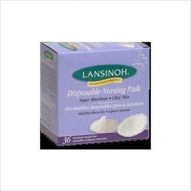 Lansinoh Disposable Breast Pads for Breastfeeding Mothers - 36 Ea