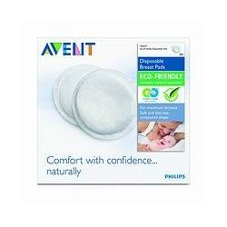 Philips AVENT Eco-Friendly Breast Pads, 60 Count