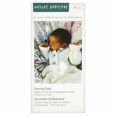 Nature babycare Eco Nursing Pads, 30-count (Pack of 6)
