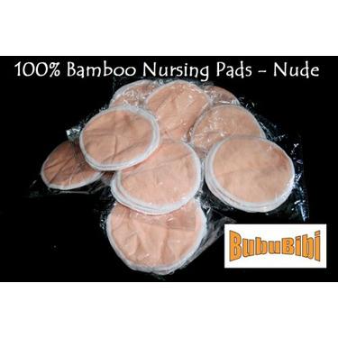 100% Bamboo Nursing or Breast Pads Organic - Nude