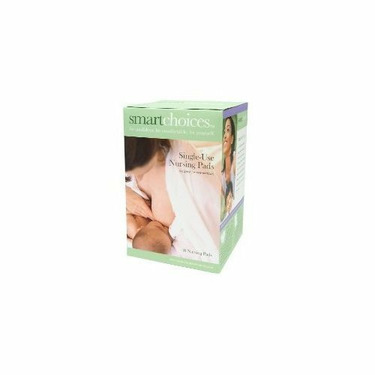 Smart Choices Single Use Nursing Pads- 48 Count