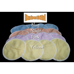 100% Bamboo Nursing or Breast Pads Organic - Blue