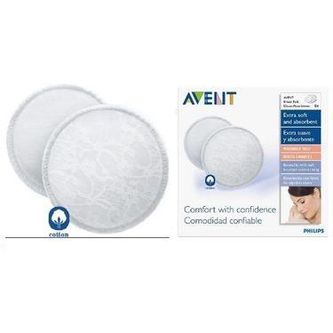 Avent 6 Pack Washable Nursing pads