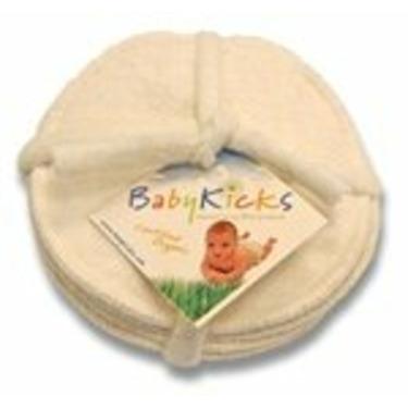 BabyKicks Nursing Pads set of 3 pairs Hemp Fleece