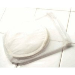 Breastfeeding Pads made of Certified Organic Cotton - Blue Bubbles