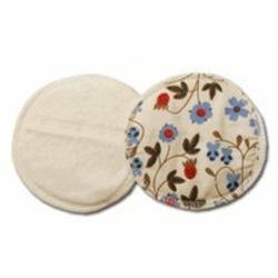 Breastfeeding Pads made of Certified Organic Cotton - Gardenia