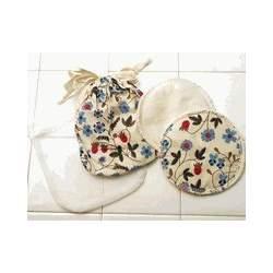 Breastfeeding Pads made of Certified Organic Cotton - Gardenia