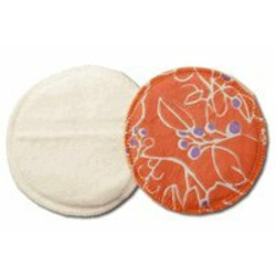 Breastfeeding Pads made of Certified Organic Cotton - Haiku Rose