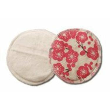 Breastfeeding Pads made of Certified Organic Cotton - Plum