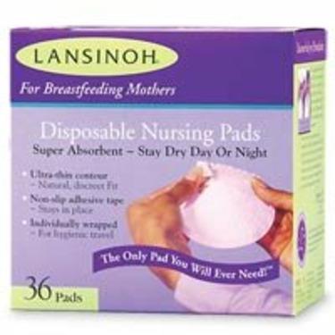 LANSINOH NURSING PADS DSPSABLE Size: 36