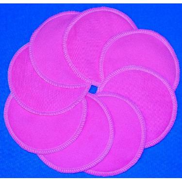 NuAngel Designer Washable Nursing Pads 100% Cotton - Bubble Gum Pink -Made in U.S.A.
