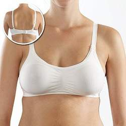 Nursing Bra - White - 44F